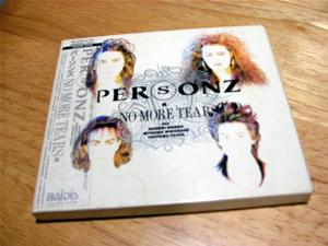 PERSONZ -NO MORE TEARS-